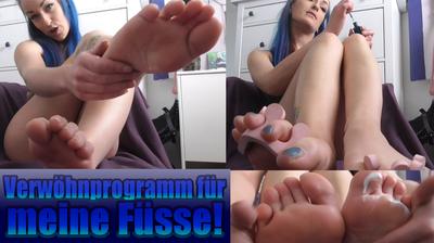 Verwöhnprogramm für meine Füße!