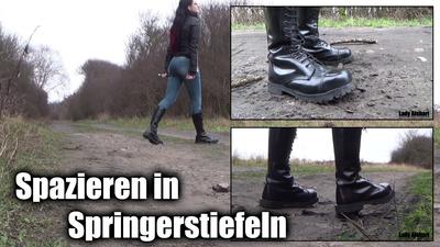 Jumping-Boot Walk