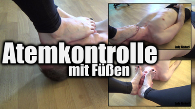 Foot Over Mouth Smothering: Breathcontrol With Mistress?s Feet