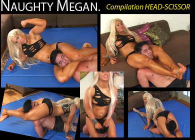 36332 - NAUGHTY MEGAN - COMPILATION SCISSORHOLD