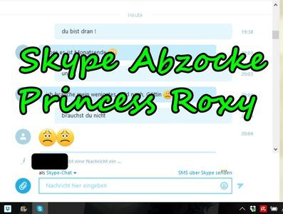 Skype rip my cash Bitch - fight was futile!