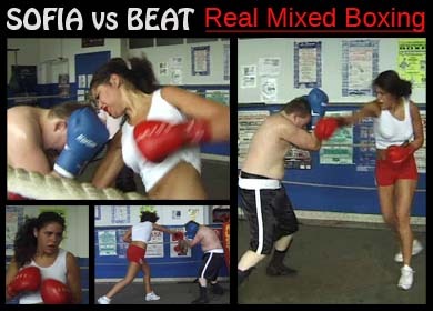 69098 - SOFIA VS BEAT - REAL MIXED BOXING
