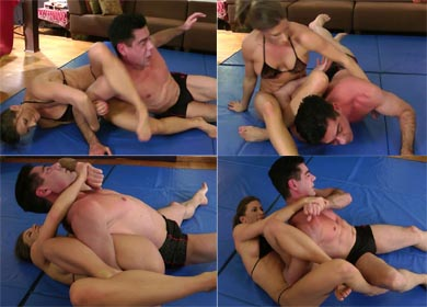 60237 - ARIEL'S HOLDS - DOUBLE ARMBAR