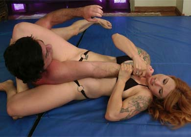 NIKKI FIERCE OUT OF CONTROL - SUBMISSION DEMOLITION MIXED MATCH - ARMBAR