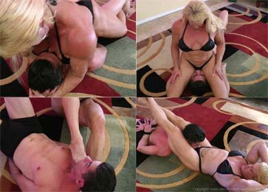 65526 - TRAPPED BY KASIE ! - CLIP 02