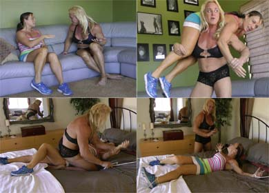 JENNIFER BOUND AND TICKLED ! - CLIP 01