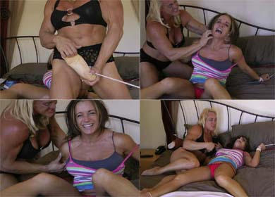 JENNIFER BOUND AND TICKLED ! - CLIP 03