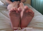 Licking Feet Bitch