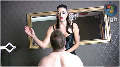 78497 - Brutal Slaps By The Hunteress - The Hunteress