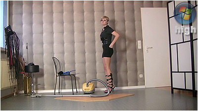 Cleaning And Vacuuming (wmv) - Irina