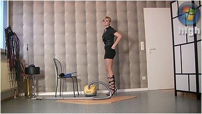Cleaning And Vacuuming (wmv) - Irina