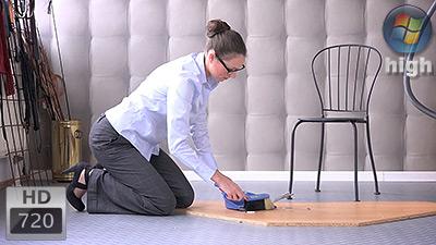 Cleaning And Vacuuming (HDTVWMV) - Patrizia