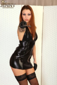 Sexy latex dress - that turns you on!