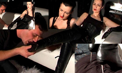15160 - Lick my boots and trampling the slave Part 2