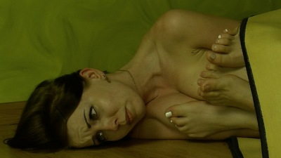66659 - 3 girls trapped in the carpet boob massage
