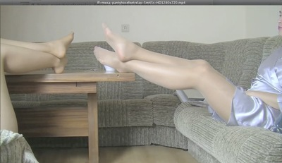 26508 - PANTYHOSE FEET RELAX