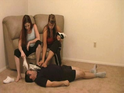 21494 - Stinky Sneaker Humiliation - Part 1