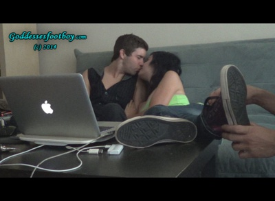 Rude Young Couple Humiliates cuckold