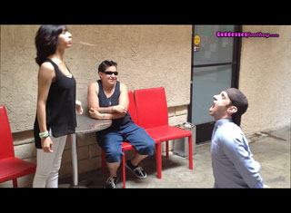 Erika Invites A Stranger To Watch Her Degrade Her slave
