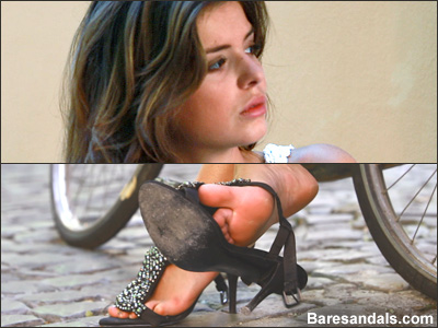 Eleonora, Italian high heels after bicycle