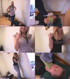 39382 - Candice Teaches Kylee about TRAMPLING!
